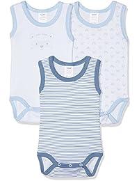 Alphabet 3 Bodys Sm, Body para Bebés, pack con 3 unidades