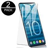 DyDiy Vetro Temperato Samsung Galaxy S10 [2 Pack] Premium Pellicola Protettiva Film Ultra Resistente Screen Protector Proteggi Schermo per Samsung Galaxy S10