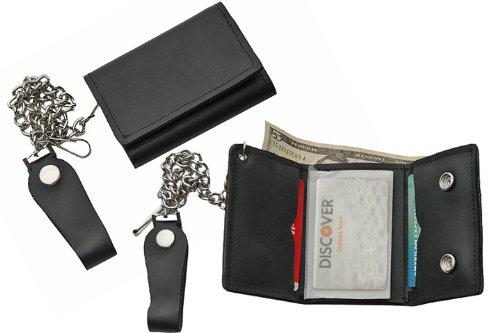 Szco Supplies Tri-Fold Biker Wallet -