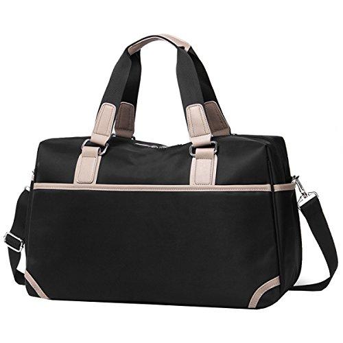 Große Kapazität Reisetasche Gepäcktaschen Handtasche Sport Und Fitness Sporttasche Fitnesstasche Große Kapazität Handtasche Black