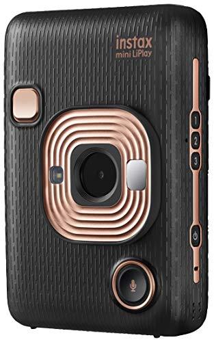 Fujifilm instax mini liplay elegant black fotocamera ibrida istantanea e digitale (2560 x 1920), registra 10