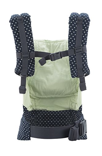 Ergobaby Original Collection Evolutionary Backpack Baby Carrier one size Ergobaby The baby's weight is evenly distributed between the wearer's hips and shoulders. The baby is ergonomically cradled in a natural seated position. It has front, back, and hip carrying positions. 2