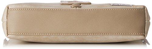 Lady Edelweiss Damen Trachtentasche Umhängetasche, 5 x 19 x 30 cm Beige (Beige)