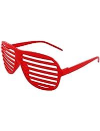 Shutter Shades Atzenbrille 6er Set Rasterbrillen V-820 von Alsino