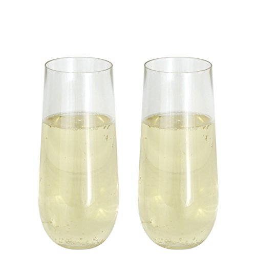 (Oenophilia 112914 Aire Cups Champagner, transparent)