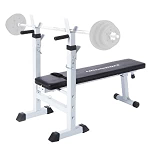 Ultrasport Weight Bench H250 incl. Built-in Dip Station
