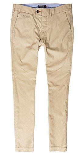 SUPERDRY Slim Chino, Pantaloni Uomo, City Beigexmh, M