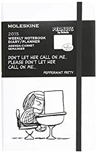 Moleskine Peanuts Sonderausgabe, Wochen-Notizkalender 2015, Large Hard Cover, weiß