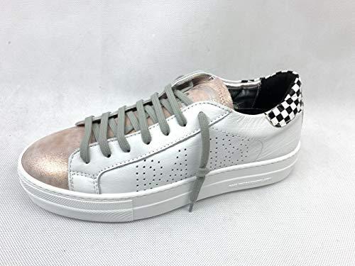 P448 | E9Thea | Sneaker - Weiss | White, Farbe:weiß, Größe:38