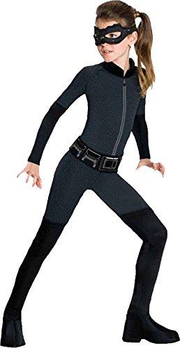 Rubie's Kinderkostüm Offizielles DC-Comics-Catwoman-Kostüm, Figur aus Batman –Gr. S, 3–4Jahre, (Kinder Kostüm Für Catwoman)