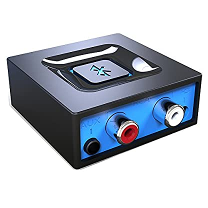 Esinkin-Bluetooth-Audio-Adapter-frs-Musik-Streaming-Sound-System-Drahtloser-Audio-Adapter-Arbeitet-mit-Smartphones-und-Tablets-Bluetooth-Empfnger-fr-LautsprecherSchwarz