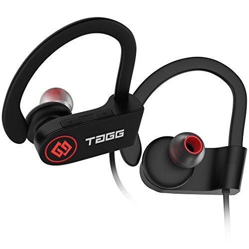 TAGG Inferno, Wireless Bluetooth Earphone Headphone with Mic, Sweatproof Sports Headset, Best for Running and Gym, Stereo Sound Quality with Ergonomic-Design