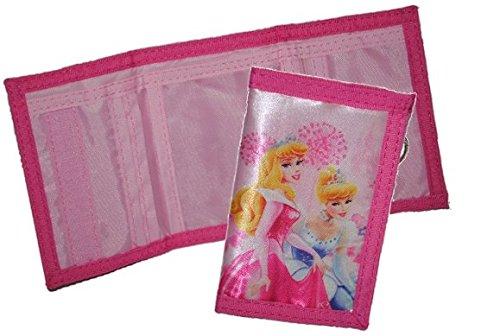 Preisvergleich Produktbild Geldbörse Disney Prinzessin Geldbeutel Portemonnaie Kinder rosa pink Geldtasche