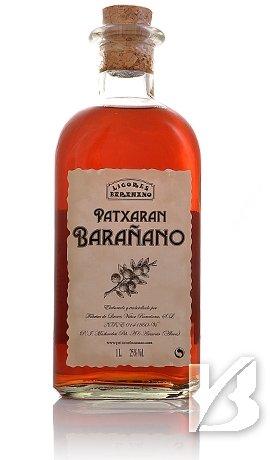 aus Spanien Pacharan Schlehenlikör, Patxaran Barañano