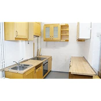 Küche Gebraucht Ikea Rationell Blenden Massivholz Modern Buche ...