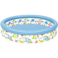 Bestway - Piscine gonflable ronde pour enfant Ocean Life, diamètre 122 cm, hauteur 25 cm