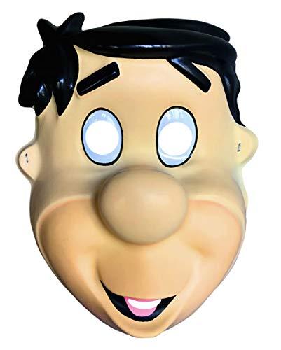 Zubehör Kostüm Flintstones - Horror-Shop Originale Fred Feuerstein Halbmaske als Kostüm Zubehör