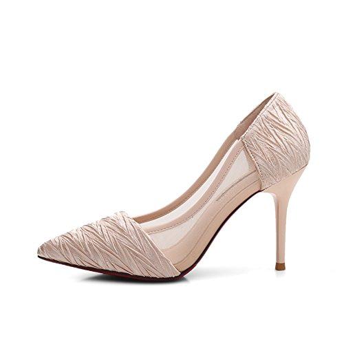 Bbdsj Donne Tacchi Alti Tacchi Sexy Fashion 9cm Tacchi A Punta.tacchi Personalità Tacchi Alti Scarpe Da Donna Professionali.tacchi Alti Rosa A