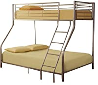 Metal Triple Sleeper Bunk Bed - The Perfect Sleeping Solution for your Little Ones' Shared Bedroom or for When their Friends Come Over