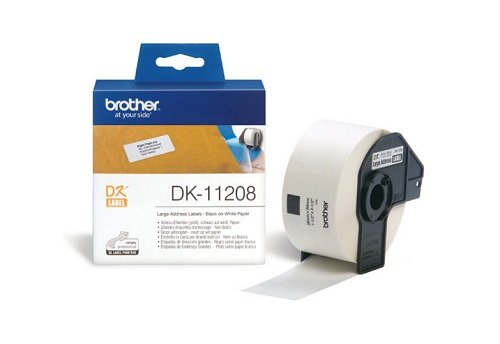 Brother Adressetiketten DK11208 38x90mm