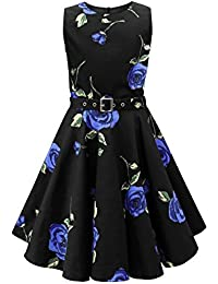 BlackButterfly Kids Audrey Vintage Infinity 50s Girls Dress