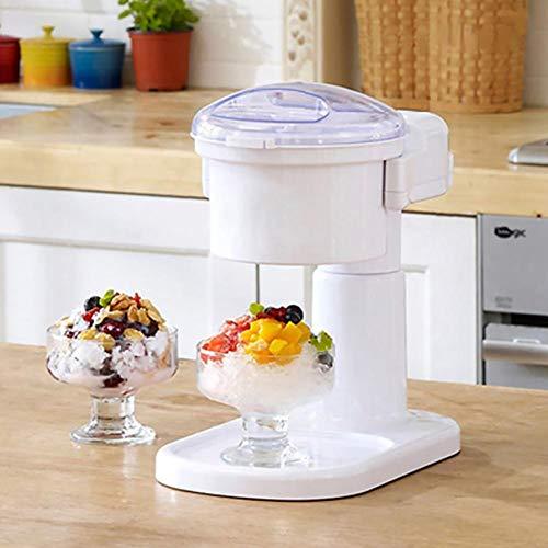 Tartiery macchina per il ghiaccio frozen yogurt frappè gino gelati macchina per il ghiaccio tritaghiaccio coperchio di sicurezza per grandi capacità
