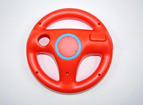 LS 1x Nintendo Wii Lenkrad Rot red Mario Kart Controller Zubehör Wheel