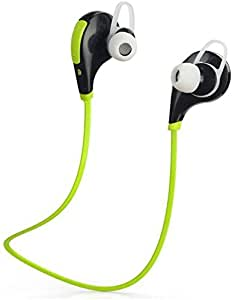 ROBMOB High Quality Super Sound Bluetooth 4.1 Wireless Stereo Sport Headphones Running Jogger Sweatproof Hi-Fi Sound Hands-Free Calling Compatible For Oppo A37
