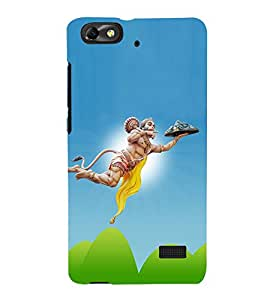 Lord Hanuman 3D Hard Polycarbonate Designer Back Case Cover for Huawei Honor 4C :: Huawei G Play Mini