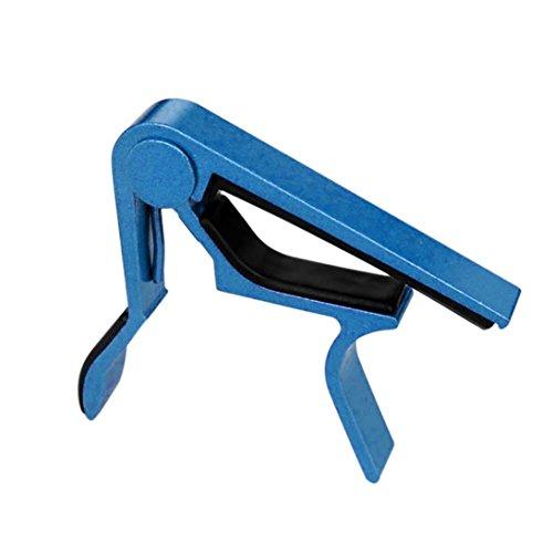 TAOtTAO - Abrazadera para guitarra eléctrica acústica, azul