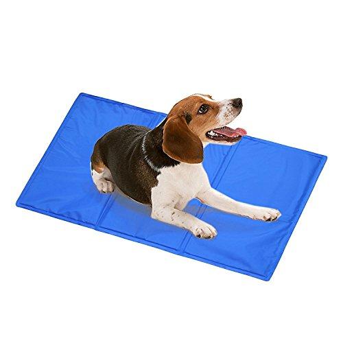 DAOXU Kühlende Haustiermatte für Hunde und Katzen, selbstkühlende Gelmatte, Matratze, Abkü Preisvergleich