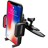 CD Slot Phone Holder, Mpow Universal Car Mount 360° Rotating Car Cradle Holder with One-Click Release Button Phone Holder for iPhone 7 / 7plus / 6s / 5, Nexus 5X / 6 / 6P, Huawei LG Sony and Others