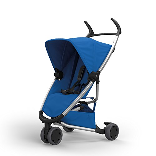Quinny Zapp Xpress Buggy, kompakt zusammenfaltbar, leicht und komfortabel, mit Relax-Position, blau