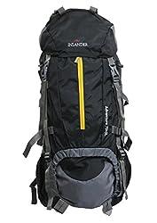 INLANDER Decamp 1009 70Ltrs Black Backpack