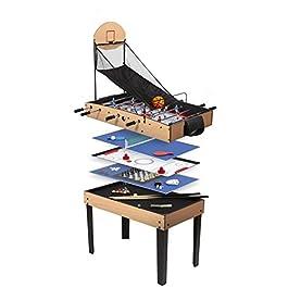 CSL756 CDTS Jeu de Plein Air Table Multi Jeux 121 X 61 cm