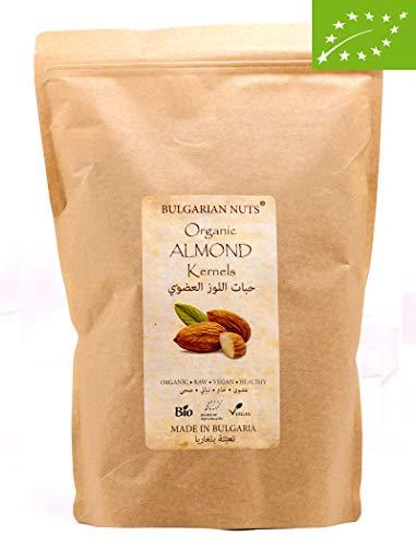 1 kg Bio Mandel ganze, supreme groß, süßer bitterer geschmack, direkt von zertifizierter BIO Mandelfarm in Bulgarien