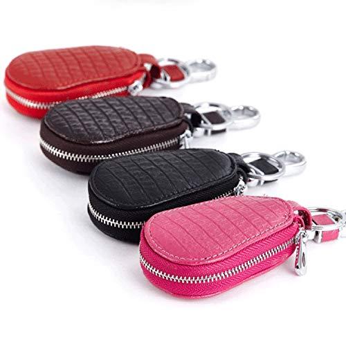 Crocodile Pattern Keyless Car Key Pouch, Bag Cage Universal for Car Keys Keyfob