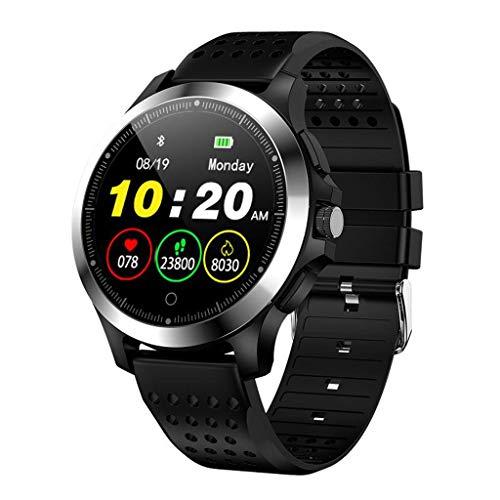 Smart Watch, Elospy Fitness Tracker Uhr IP67 Wasserdichter Aktivitäts-Tracker Pulsmesser, Blutdruckmessgerät Schrittzähler, Schlaf-Monitor Anruf für Damen Herren, IOS/Android