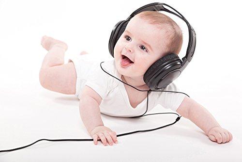Baby Heart Monitor, Professional Fetal Doppler – GEL & BATTERIES – SAFE (3 MHZ) – Crisp Sound with Adjustable Volume – Headphone Socket