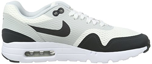 Nike Air Max 1 Ultra Essential, Entraînement de course homme Blanc (White/Anthracite/Pure Platinum)
