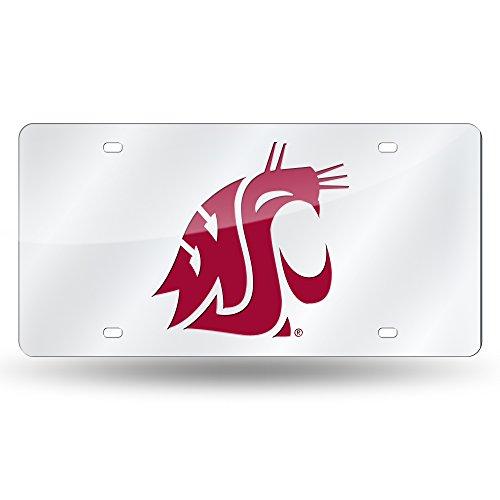 Unbekannt NCAA Laser geschnitten Auto Tag, LZS490101, Washington State Cougars Washington Nationals-laser
