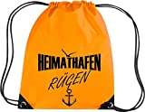 Shirtstown Premium Gymsac Heimathafen Rügen