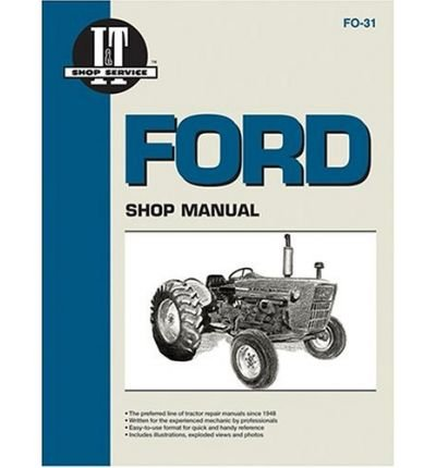 Preisvergleich Produktbild (FORD SHOP MANUAL: SERIES 2000 (3-CYL.),  3000 (3-CYL.),  4000 (3-CYL.) COVERS MODELS PRIOR TO 1975) BY Intertec Publishing Corporation(Author)Paperback Jan-1974