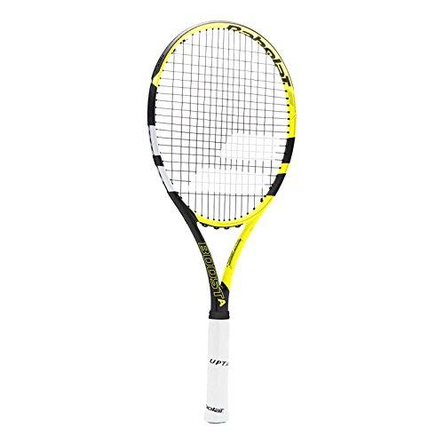 Babolat Boost Aero Strung Raquetas de Tenis, Hombre, Amarillo / Negro / Blanco, 2