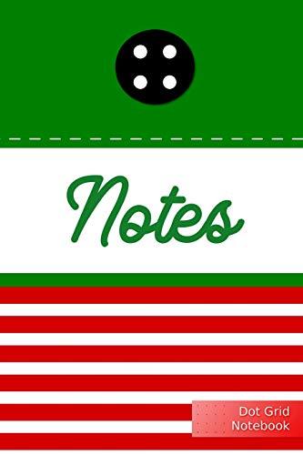 Notes Dot Grid Notebook: Christmas Elf - Punktraster Notizbuch Weihnachtself A5 120 Seiten