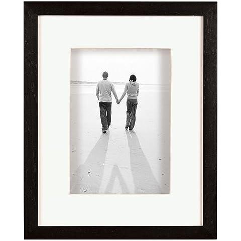 MCS Dakota, legno scatola di ombra per un 27,94 cm x 35,56 cm fotografia, colore; Nero