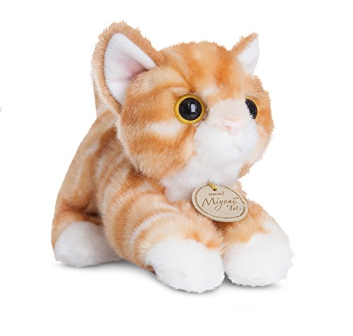 Aurora World MiYoni Tots Tabby Cat Plush Toy (Orange)