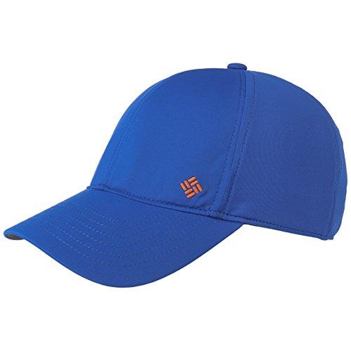 Columbia Coolhead Baseball Cap - Königsblau - Einstellbar (Columbia Sportliche Kappe)