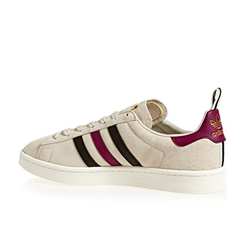adidas Campus, Sneaker Uomo Marrone (Clear Brown/core Black/mystery Ruby)