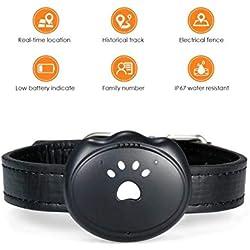 TopNext Tracker GPS pour Animal Domestique Chien Chat GPS Traceur Intelligent Anti Perte Localisateur Tractive Tracker Etanche pour Chat Chiot Animaux